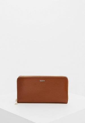 Кошелек DKNY BRAYNT PARK- SUTTON. Цвет: коричневый