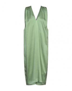 Платье до колена ALPHA STUDIO. Цвет: светло-зеленый