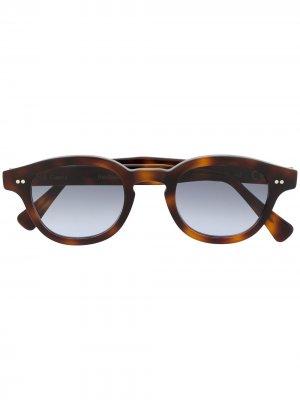 Солнцезащитные очки Bronte черепаховой расцветки Epos. Цвет: коричневый