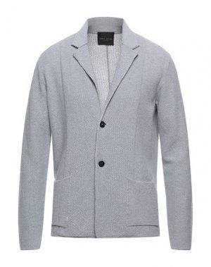 Пиджак ROBERTO COLLINA. Цвет: светло-серый