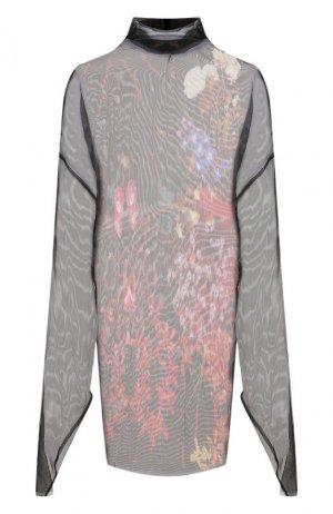 Платье-туника Dries Van Noten. Цвет: чёрный