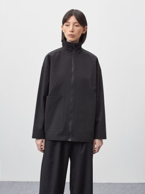 Куртка Элиста с большими карманами GATE31. Цвет: черный