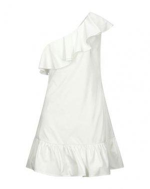 Короткое платье DRY LAKE.. Цвет: белый