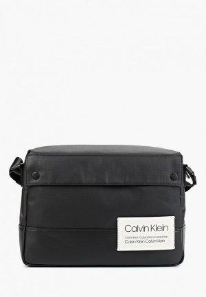 Портфель Calvin Klein Jeans. Цвет: черный