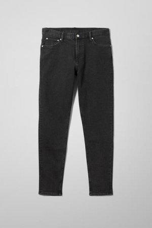 Зауженные джинсы Cone Weekday. Цвет: черный, разноцветный