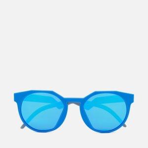 Солнцезащитные очки HSTN Oakley. Цвет: синий