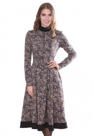 Платье Olivegrey DANELIA. Цвет: синий