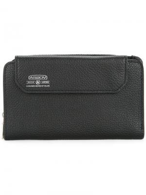 Бумажник Shrink As2ov. Цвет: черный