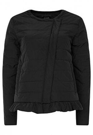 Утепленная куртка с оборкой Снежная Королева collection