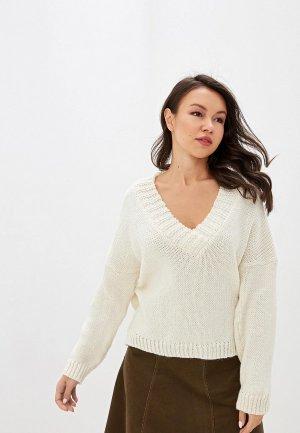 Пуловер Vera Moni. Цвет: белый