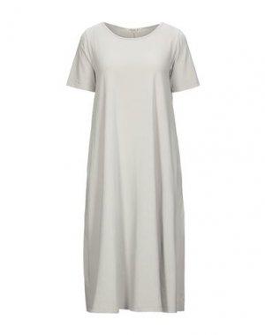 Платье до колена MAMA B.. Цвет: светло-серый