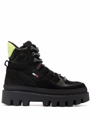 Ботинки Hybrid на шнуровке Tommy Jeans. Цвет: черный