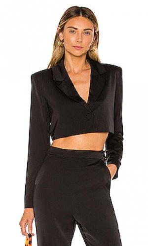 Укороченная куртка harmony NBD. Цвет: черный