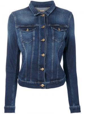 Denim jacket 7 For All Mankind. Цвет: синий