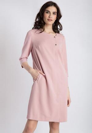 Платье Finn Flare. Цвет: розовый