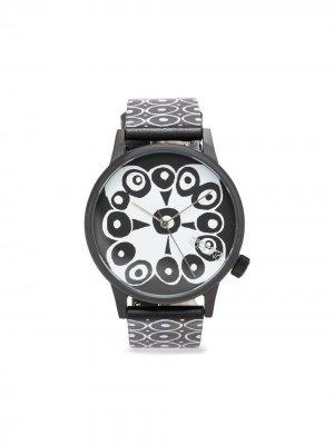 Наручные часы Bubbles 41 мм из коллаборации с Komono 10 CORSO COMO. Цвет: черный
