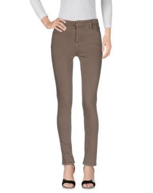 Джинсовые брюки HOTEL PARTICULIER. Цвет: серый
