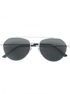 Солнцезащитные очки Jimmy Choo Eyewear. Цвет: черный