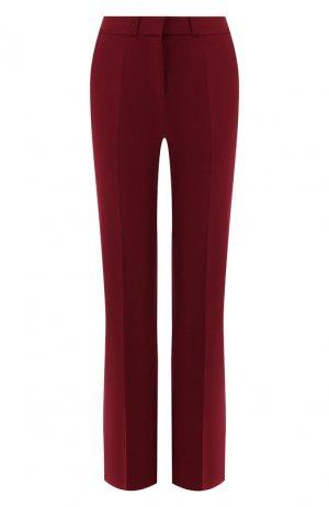Расклешенные брюки Victoria, Victoria Beckham. Цвет: бордовый