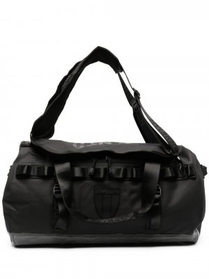 Спортивная сумка с нашивкой-логотипом Hydrogen. Цвет: 007 черный
