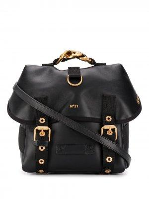 Рюкзак с логотипом Nº21. Цвет: черный