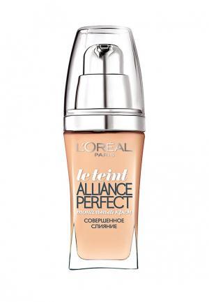 Тональный крем LOreal Paris L'Oreal Alliance Perfect, Совершенное слияние, выравнивающий и увлажняющий, оттенок N1, 30 мл. Цвет: бежевый