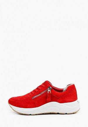Кроссовки Caprice Увеличенная полнота, Comfort. Цвет: красный