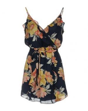 Короткое платье JOIE. Цвет: темно-синий