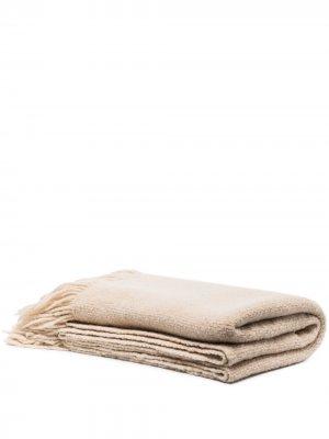 Одеяло с бахромой Lauren Manoogian. Цвет: нейтральные цвета