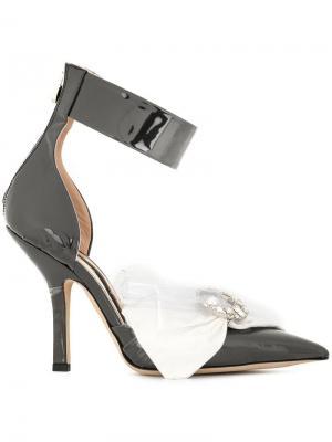 Декорированные туфли из ПВХ Midnight 00. Цвет: черный
