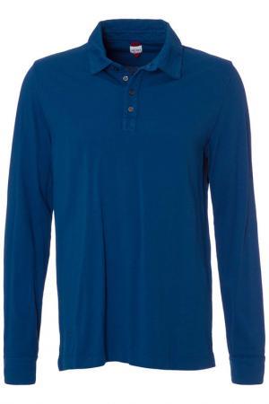 Рубашка-поло Jet Set. Цвет: синий