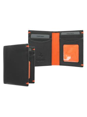 Бумажник Thun Visconti. Цвет: оранжевый