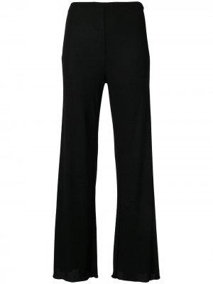 Расклешенные брюки 1990-х годов Jean Paul Gaultier Pre-Owned. Цвет: черный