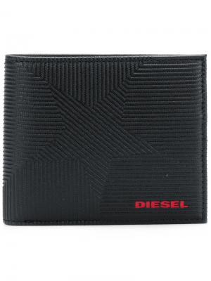 Кошелек Hiresh S Diesel. Цвет: чёрный