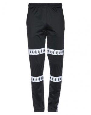 Повседневные брюки KAPPA. Цвет: черный