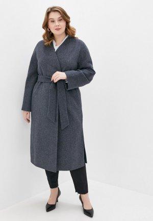 Пальто Снежная Королева SNQFOS0CO02. Цвет: серый
