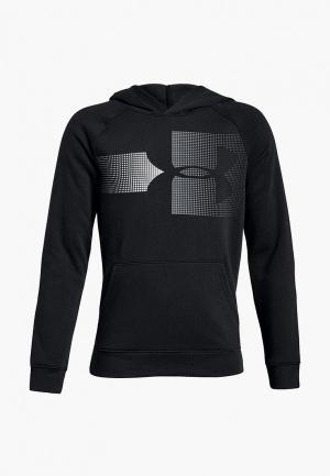 Худи Under Armour Rival Logo Hoody. Цвет: черный