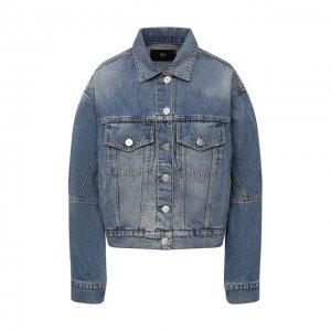 Джинсовая куртка 3x1. Цвет: синий