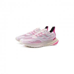 Комбинированные кроссовки adidas Originals. Цвет: белый