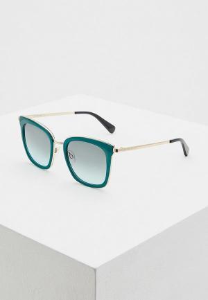 Очки солнцезащитные Love Moschino MOL007/S 1ED. Цвет: зеленый