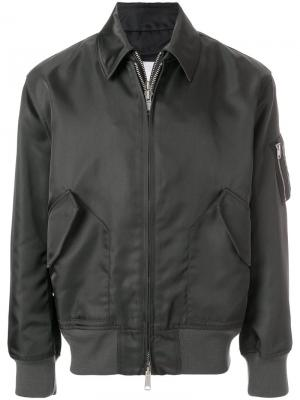 Куртка-бомбер Calvin Klein 205W39nyc. Цвет: серый