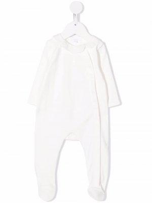 Пижама с вышивкой Chloé Kids. Цвет: белый