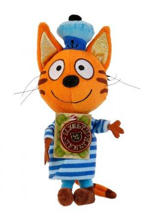 Мягкая игрушка Три кота:Коржик Мульти-пульти. Цвет: оранжевый