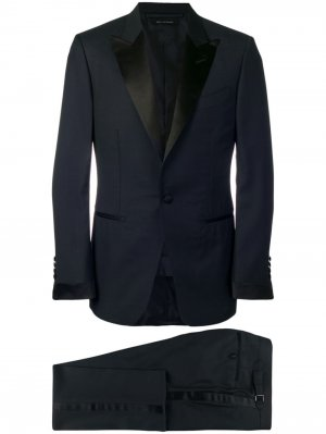 Классический костюм TOM FORD. Цвет: синий