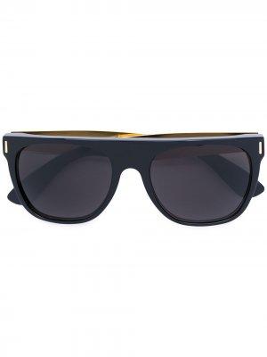 Солнцезащитные очки с затемненными линзами Retrosuperfuture. Цвет: черный