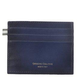 Холдер д/кредитных карт BOUDIN/22 темно-синий OFFICINE CREATIVE