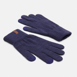 Перчатки, варежки, муфты Magic Glove Timberland. Цвет: синий