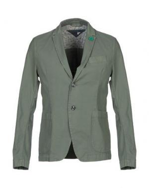 Пиджак KOON. Цвет: зеленый-милитари