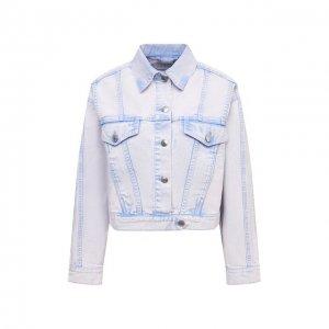 Джинсовая куртка Iro. Цвет: фиолетовый