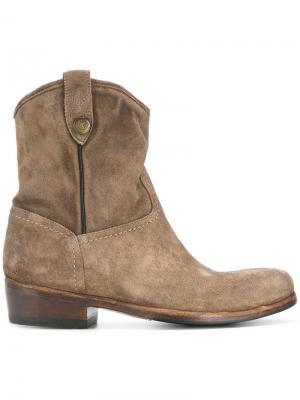 Ботинки Calipso Alberto Fasciani. Цвет: коричневый